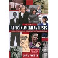 African American Firsts, 4th Edition by Potter, Joan, 9780758292414