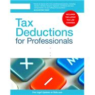 Tax Deductions for Professionals by Fishman, Stephen, 9781413322415