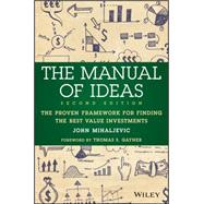 The Manual of Ideas by Mihaljevic, John, 9781119052418