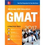 Mcgraw-hill Education Gmat 2017 by McCune, Sandra Luna; Reed, Shannon, 9781259642418