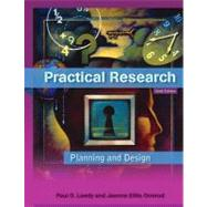 Practical Research : Planning and Design by Leedy, Paul D.; Ormrod, Jeanne Ellis, 9780137152421