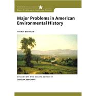 Major Problems In American Environmental History by Merchant,Carolyn, 9780495912422
