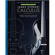 Student Solutions Manual for Stewart's Single Variable Calculus: Early Transcendentals, 8th by Stewart, James; Cole, Jeffrey A.; Drucker, Daniel; Anderson, Daniel, 9781305272422
