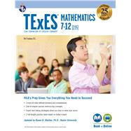 Texes Mathematics, Grades 7-12 - 235 + Online by Friedman , Mel; Reiss, Stephen (CON); Shelton, Ryann (CON), 9780738612423