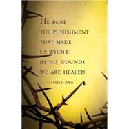 He Bore the Punishment Lenten Bulletin 2016 by Not Available (NA), 9781501802423