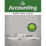 Bundle: Accounting, 25th + CengageNOW with eBook 2-Semester Printed Access Card, 25th Edition by Warren, Reeeve, Duchac, 9781285582429