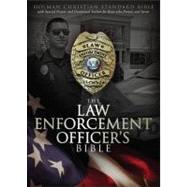 HCSB Law Enforcement Officer's Bible, Black LeatherTouch by Holman Bible Staff, 9781433602429
