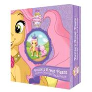 Whisker Haven Tales with the Palace Pets: Petite's Great Feats (Storybook Plus Collectible Toy) by Disney Book Group; Disney Storybook Art Team, 9781484752432