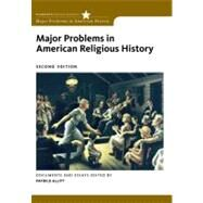 Major Problems In American Religious History by Allitt,Patrick, 9780495912439