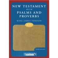 New Testament with Psalms and Proverbs: King James Version, Tan, Flexisoft by Hendrickson Publishers, 9781598562446