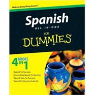 Spanish All-in-One For Dummies by Unknown, 9780470462447