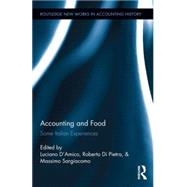 Accounting and Food: Some Italian Experiences by Sargiacomo; Massimo, 9781138652453