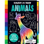 Scratch and Draw Animals by Lambert, Nat; Green, Barry, 9781787002456