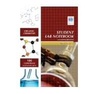 Organic Chemistry Student Lab Notebook: 100 Carbonless Duplicate Sets. Top sheet perforated by Hayden-McNeil, 9781930882461