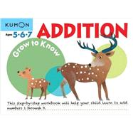 Grow to Know Addition by Kumon, 9781941082461