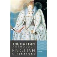 The Norton Anthology of English Literature, Volume 1 by Greenblatt, Stephen; Et Al., 9780393912470
