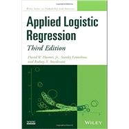 Applied Logistic Regression by Hosmer, David W.; Lemeshow, Stanley; Sturdivant, Rodney X., 9780470582473