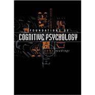 Foundations of Cognitive Psychology : Core Readings by Daniel J. Levitin (Ed.), 9780262122474