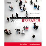 Fundamentals of Social Research, 3rd Edition by Babbie/Benaquisto, 9780176662479