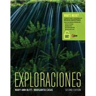 Exploraciones (with iLrn™ Heinle Learning Center, 4 terms (24 months) Printed Access Card) by Blitt, Mary Ann; Casas, Margarita, 9781305252479