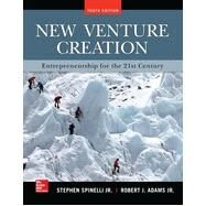 New Venture Creation: Entrepreneurship for the 21st Century by Spinelli, Stephen; Adams, Rob, 9780077862480