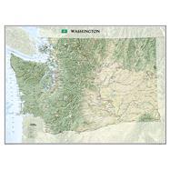 Washington by National Geographic Maps, 9781597752480