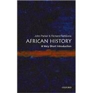 African History: A Very Short Introduction by Parker, John; Rathbone, Richard, 9780192802484
