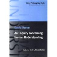An Enquiry Concerning Human Understanding by Hume, David; Beauchamp, Tom L., 9780198752486