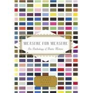 Measure for Measure: An Anthology of Poetic Meters by Finch, Annie; Oliver, Alexandra, 9780375712487