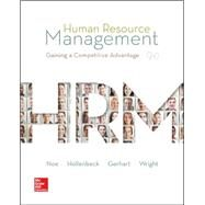 Human Resource Management with Connect Plus by Noe, Raymond; Hollenbeck, John; Gerhart, Barry; Wright, Patrick, 9781259282492