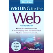 Writing for the Web by Kilian, Crawford, 9781770402492