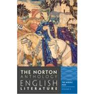 Norton Anthology of English Literature Vol. A : The Middle Ages by GREENBLATT,STEPHEN, 9780393912494
