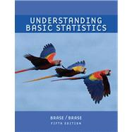 Understanding Basic Statistics, Brief (with Formula Card) by Brase, Charles Henry; Brase, Corrinne Pellillo, 9780547132495