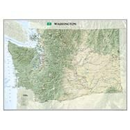 Washington by National Geographic Maps, 9781597752497