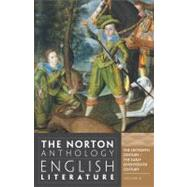 Norton Anthology of English Literature Vol. B : The Sixteenth Century/The Early Seventeeth Century by GREENBLATT,STEPHEN, 9780393912500