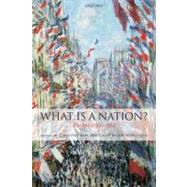 What Is a Nation? Europe 1789-1914 by Baycroft, Timothy; Hewitson, Mark, 9780199562503