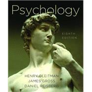 Psych 8E Cl by Gleitman,Henry, 9780393932508
