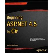 Beginning Asp.net 4.5 in C# by MacDonald, Matthew, 9781430242512
