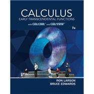 Calculus Early Transcendental Functions by Larson, Ron; Edwards, Bruce H., 9781337552516