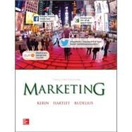 Marketing with ConnectPlus by Kerin, Roger; Hartley, Steven; Rudelius, William, 9781259282522
