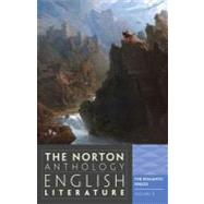 Norton Anthology of English Literature Vol. D : The Romantic Period by GREENBLATT,STEPHEN, 9780393912524