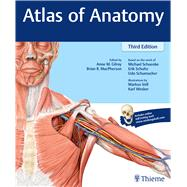 Atlas of Anatomy by Gilroy, Anne M., 9781626232525