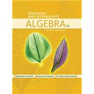 Beginning and Intermediate Algebra A Guided Approach by Karr, Rosemary; Massey, Marilyn; Gustafson, R. David, 9781435462533