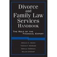 Family Law Services Handbook : The Role of the Financial Expert at Biggerbooks.com