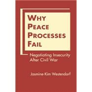 Why Peace Processes Fail: Negotiating Insecurity After Civil War by Westendorf, Jasmine-kim, 9781626372535