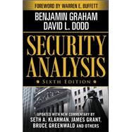 Security Analysis: Sixth Edition, Foreword by Warren Buffett by Graham, Benjamin; Dodd, David, 9780071592536