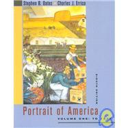 Portrait of America by Oates, Stephen B., 9780618302536