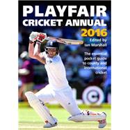 Playfair Cricket Annual 2016 by Marshall, Ian, 9781472232540