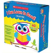 I Can Learn To Read Collection: Level B by Scholastic Teaching Resources, 9780545682541