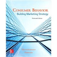 Consumer Behavior: Building Marketing Strategy by Mothersbaugh, David; Hawkins, Delbert, 9781259232541